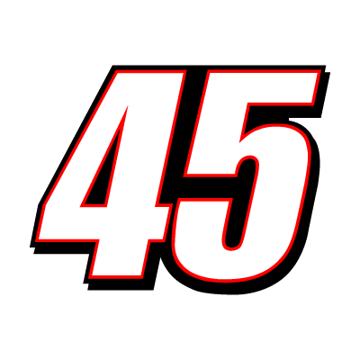 45 Kyle Petty Racing logo vector logo