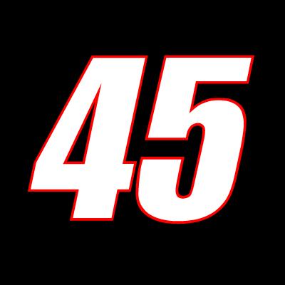 45 Kyle Petty Racing logo vector logo