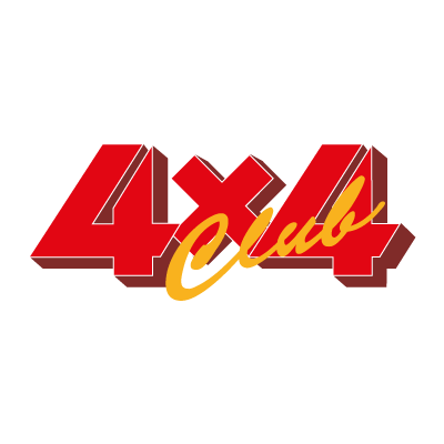 4×4 Club logo vector logo