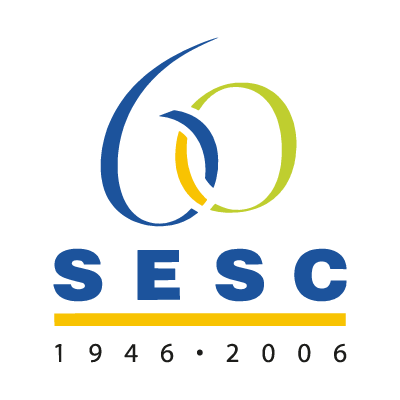 60 ANOS DO SESC logo vector logo
