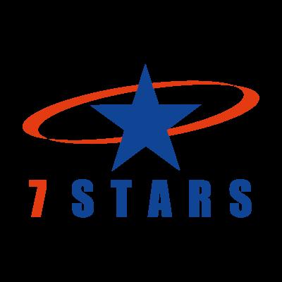7 Stars logo vector logo
