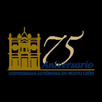75 anos UANL logo