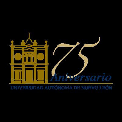 75 anos UANL logo vector logo