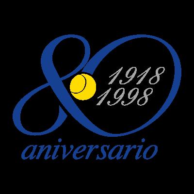 80 aniversario logo vector logo