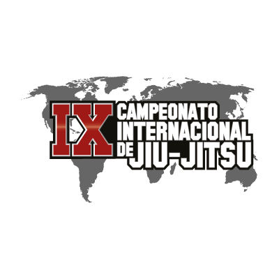 9th International Jiu-jitsu Championship logo vector logo