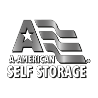 A American Self Storage logo