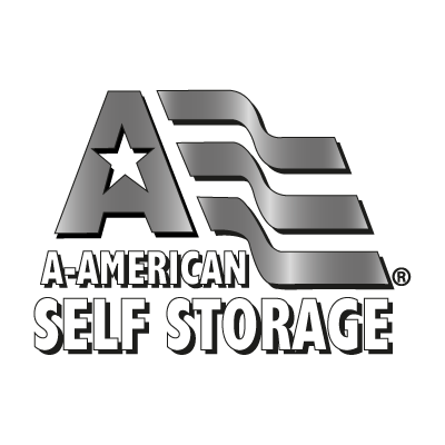 A American Self Storage logo vector logo