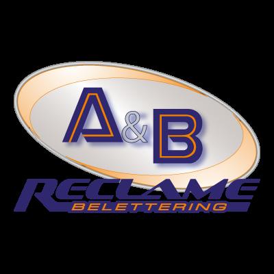 A&B reclam logo vector logo