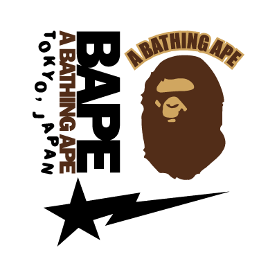 A Bathing Ape logo vector logo
