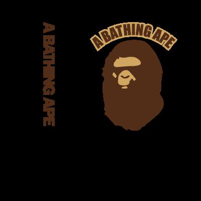 A Bathing Ape logo vector logo