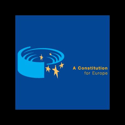 A Constitution for Europe logo vector logo