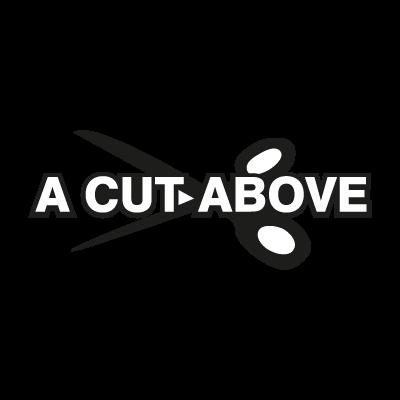 A Cut Above logo vector logo