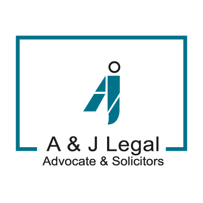 A & J Legal  logo vector logo
