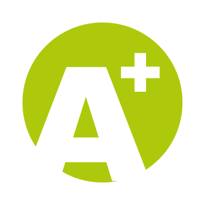 A Plus logo vector logo