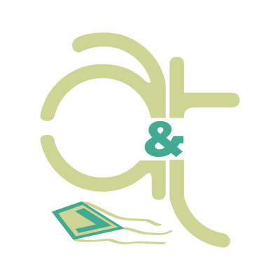 A&t logo vector logo