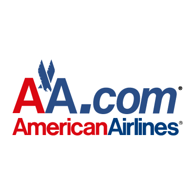 AA.com American Airlines logo vector logo