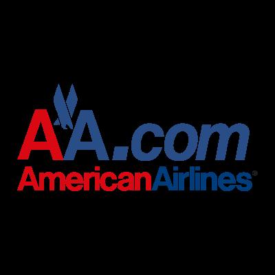 AA.com American Airlines logo vector logo