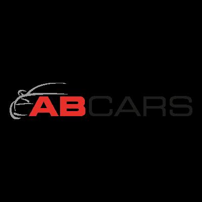 AB Cars logo vector logo