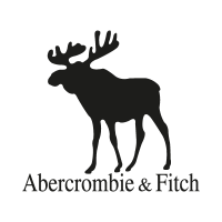 Abercrombie and Fitch Black logo