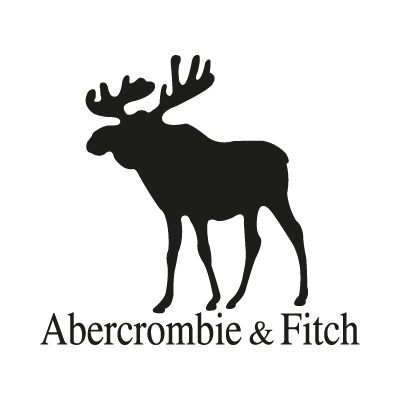 Abercrombie and Fitch Black logo vector logo