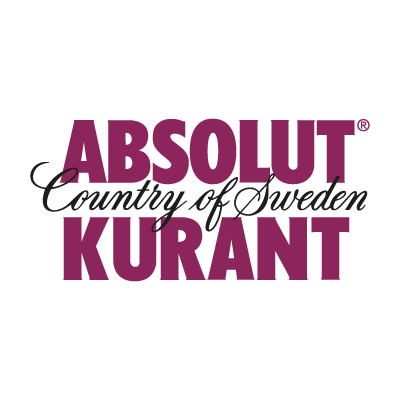 Absolut Kurant logo vector logo