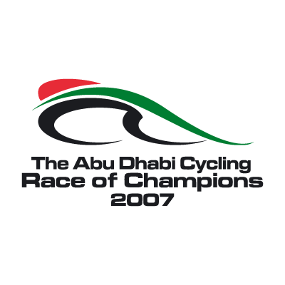 Abu Dhabi Cycling Race of Champions logo vector logo