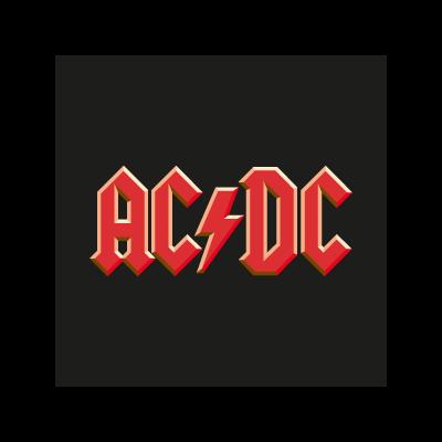 AC/DC Band logo vector logo