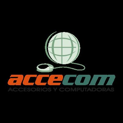 Accecom logo vector logo