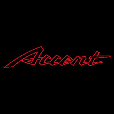 Accent Auto logo vector logo