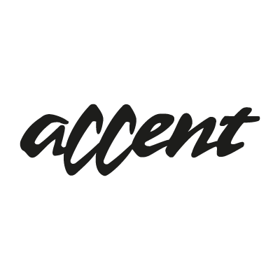 Accent logo vector logo