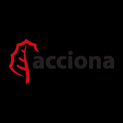 Acciona logo vector logo