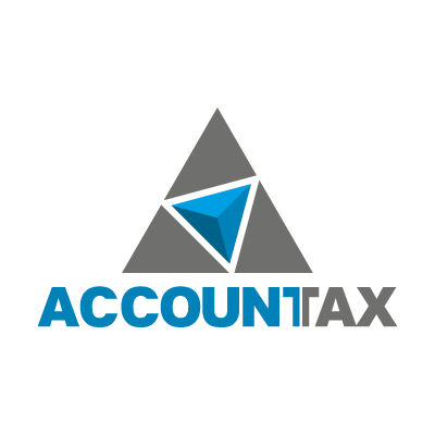Accountax logo vector logo