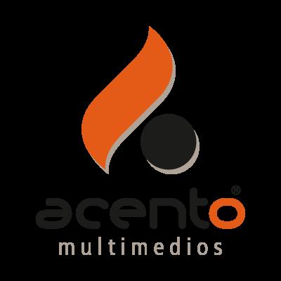 Acento Multimedios logo vector logo