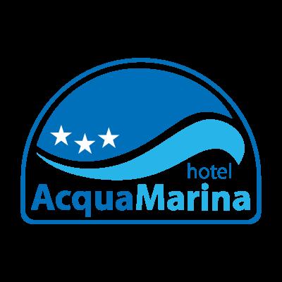 Acquamarina hotel logo vector logo