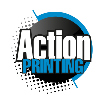 Action Printing logo vector logo