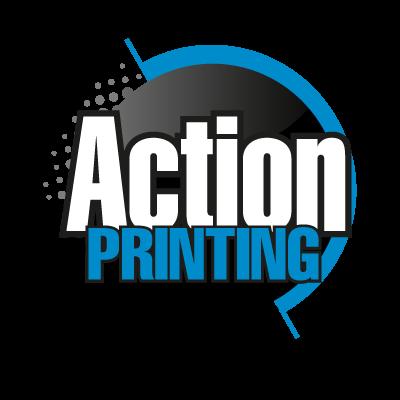 Action Printing logo vector logo