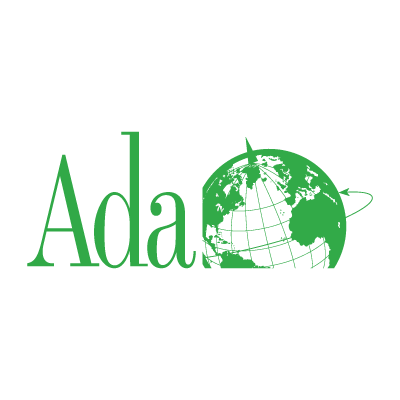 Ada World logo vector logo