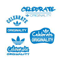 Adidas celebrate originality logo