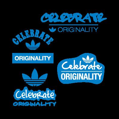 Adidas celebrate originality logo vector logo