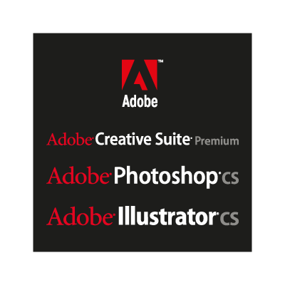 Adobe Black logo vector logo