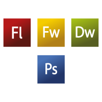 Adobe CS3 Web Premium logo