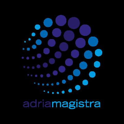 Adria magistra logo vector logo