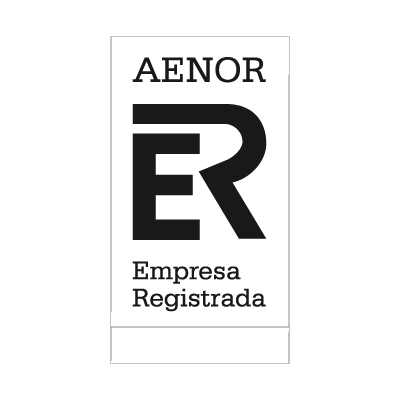 Aenor Black logo vector logo