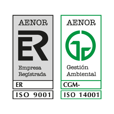 Aenor logo vector logo
