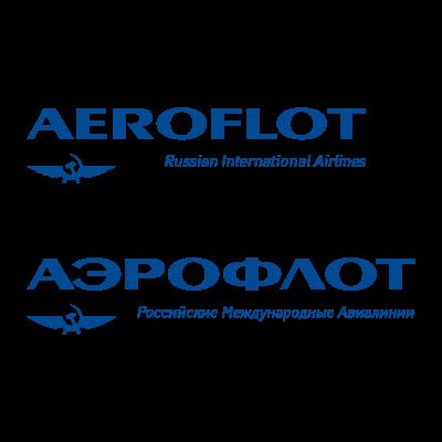 Aeroflot  logo vector logo