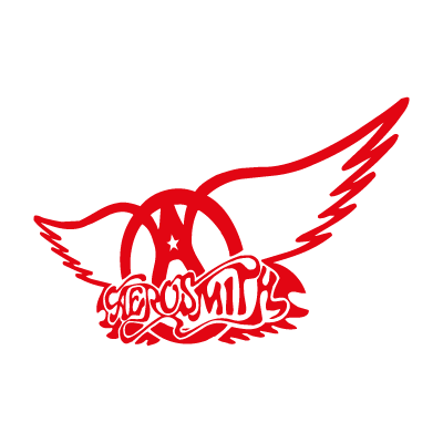 Aerosmith (Red) logo vector logo