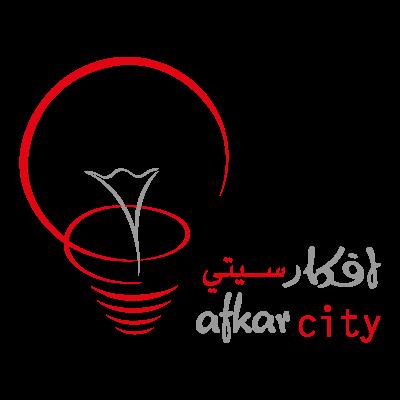 Afkarcity logo vector logo