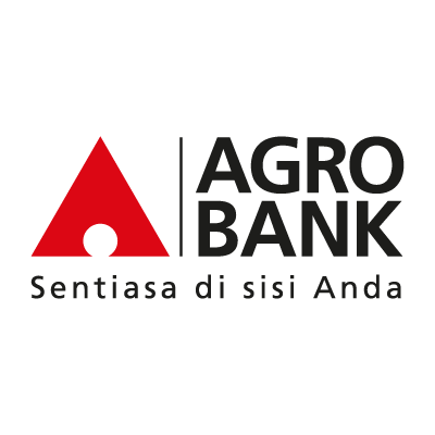 Agro bank logo vector logo
