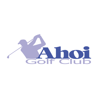 Ahoi Golf Club logo vector logo