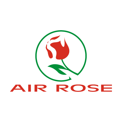 Air Rose  logo vector logo